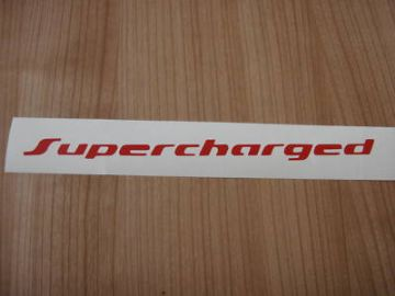 Supercharged sticker.For VW Golf Mk2,Corrado, Passat, B3,B4 g60 Syncro,Polo G40